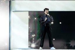 Gjon's Tears troisième de l'Eurovision