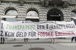 Pas d'argent pour les énergies fossiles