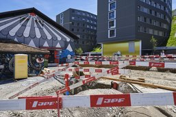 Routes fermées à Fribourg