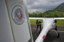 Grounding à l'aérodrome d'Epagny