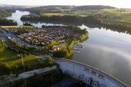 De l'hydrogène au pied du barrage de Schiffenen