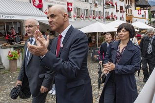 Alain Berset à Gruyères pour la fête nationale