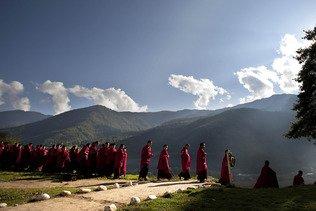 """La """"success story"""" de la vaccination au Bhoutan"""