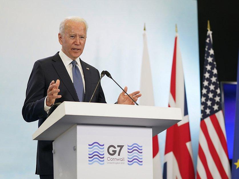 Avec Joe Biden, le G7 passe à l'action sur divers fronts