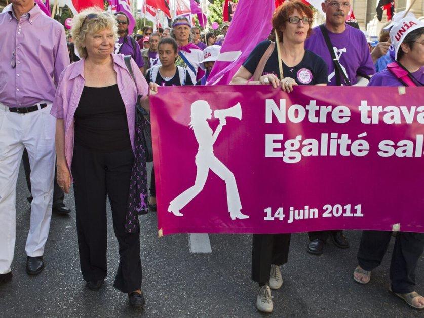 """""""Les femmes ont encore besoin de faire grève"""" (Ch. Brunner)"""