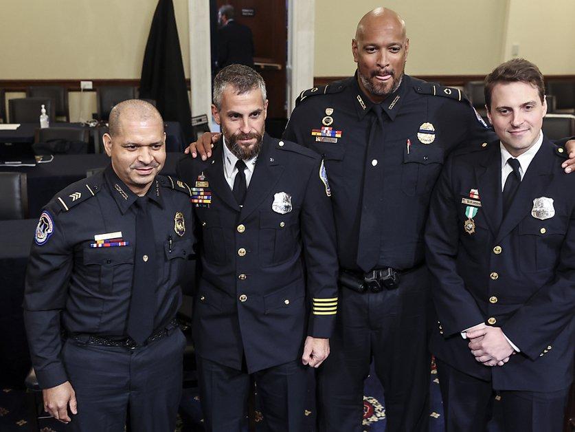 Le Congrès américain décerne sa plus haute distinction à la police