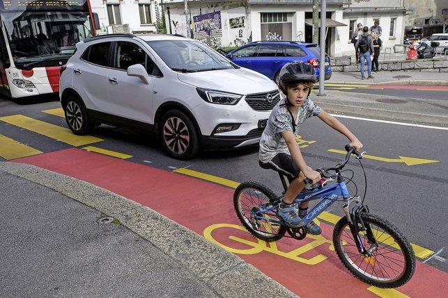 Toujours plus d'efforts pour le vélo