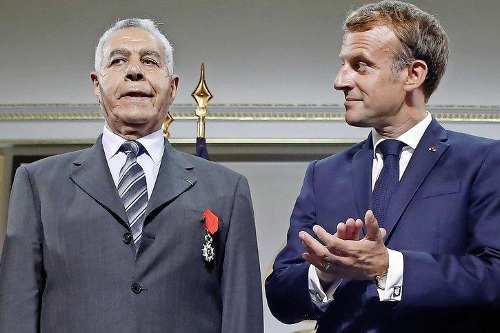 Les excuses de Macron aux harkis
