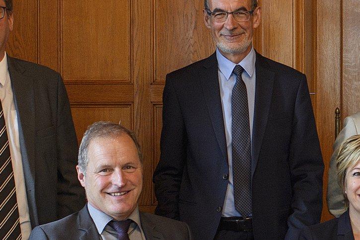 Deux Fribourgeois parmi les élus les plus influents