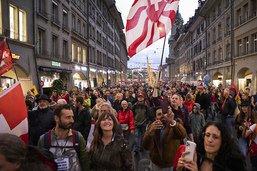 Berne ne tolérera plus les manifestations anti-mesures Covid