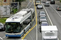 Les bus lésés en levant le pied?