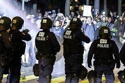 Confrontation avec la police