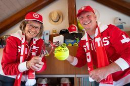 Un amour du tennis qui se vit à deux