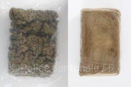 Deux kilos de drogue saisis lors d'un contrôle routier