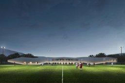 Un centre sportif contemporain à Châtel-Saint-Denis