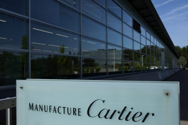 La manufacture Cartier de Villars-sur-Glâne. La maison appartient au groupe Richemont, numéro deux mondial de l'industrie du luxe.