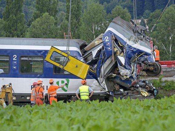 L'accident de train a eu lieu le 29juillet 2013. © McFreddy-A