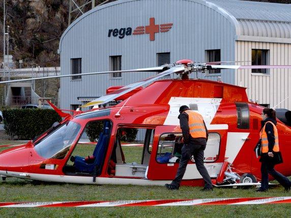 Crash d\'un hélicoptère de la Rega - La Liberté