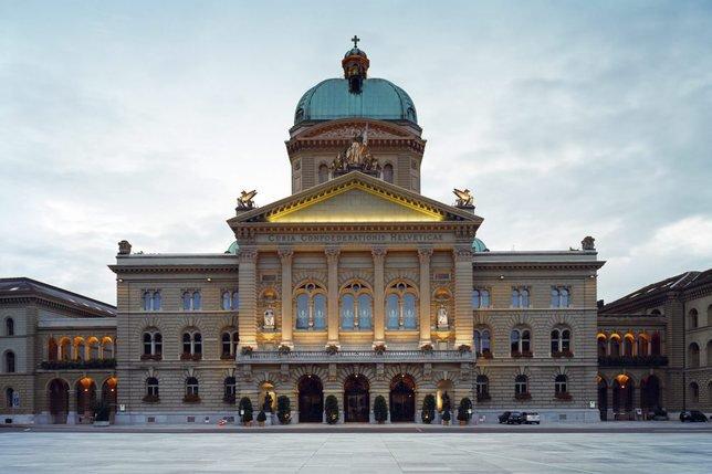 Le palais fédéral à Berne. © Keystone