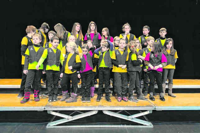 Les enfants ont chanté en chœur